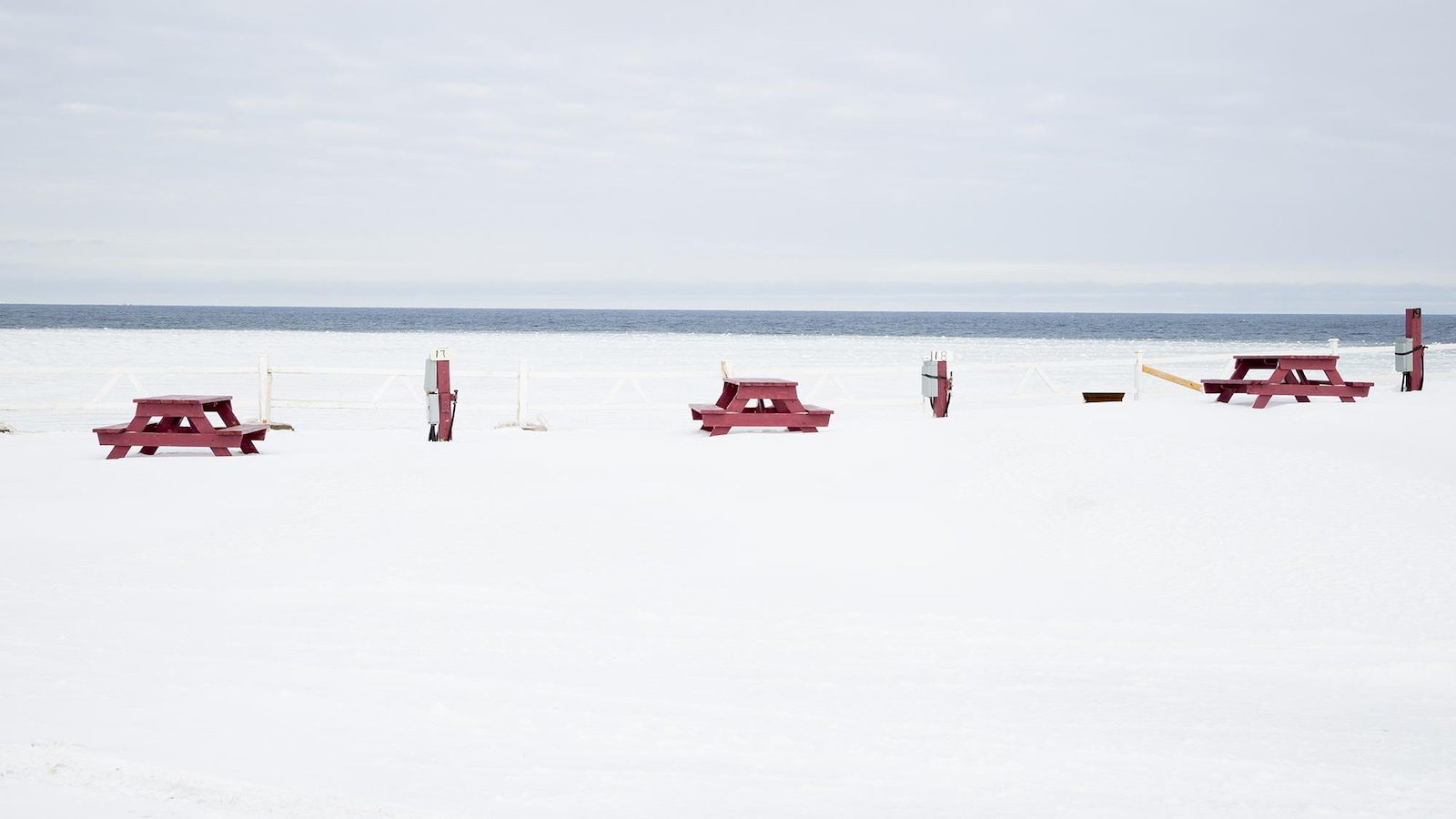 Percé en hiver