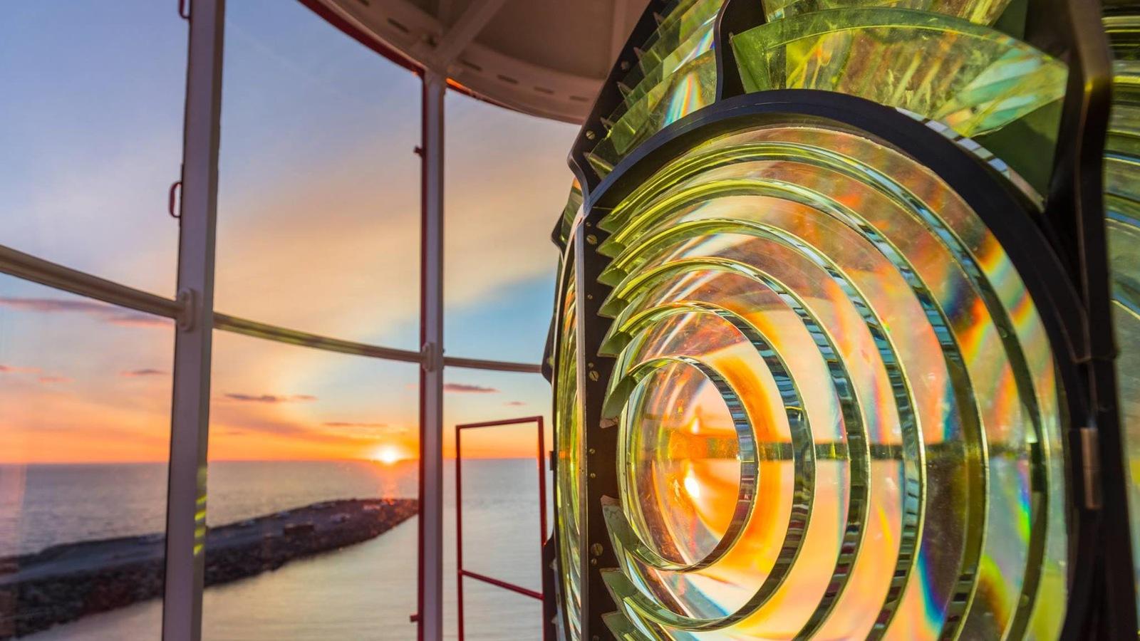 Dans le phare de Pointe-au-Père