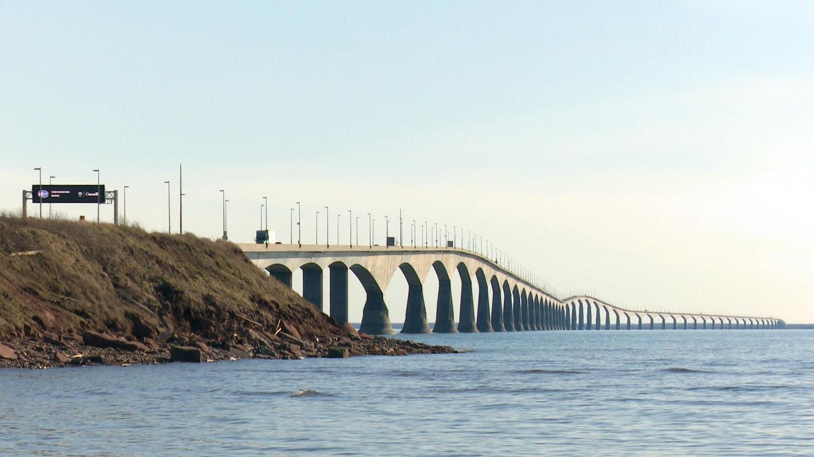 Une photo du pont