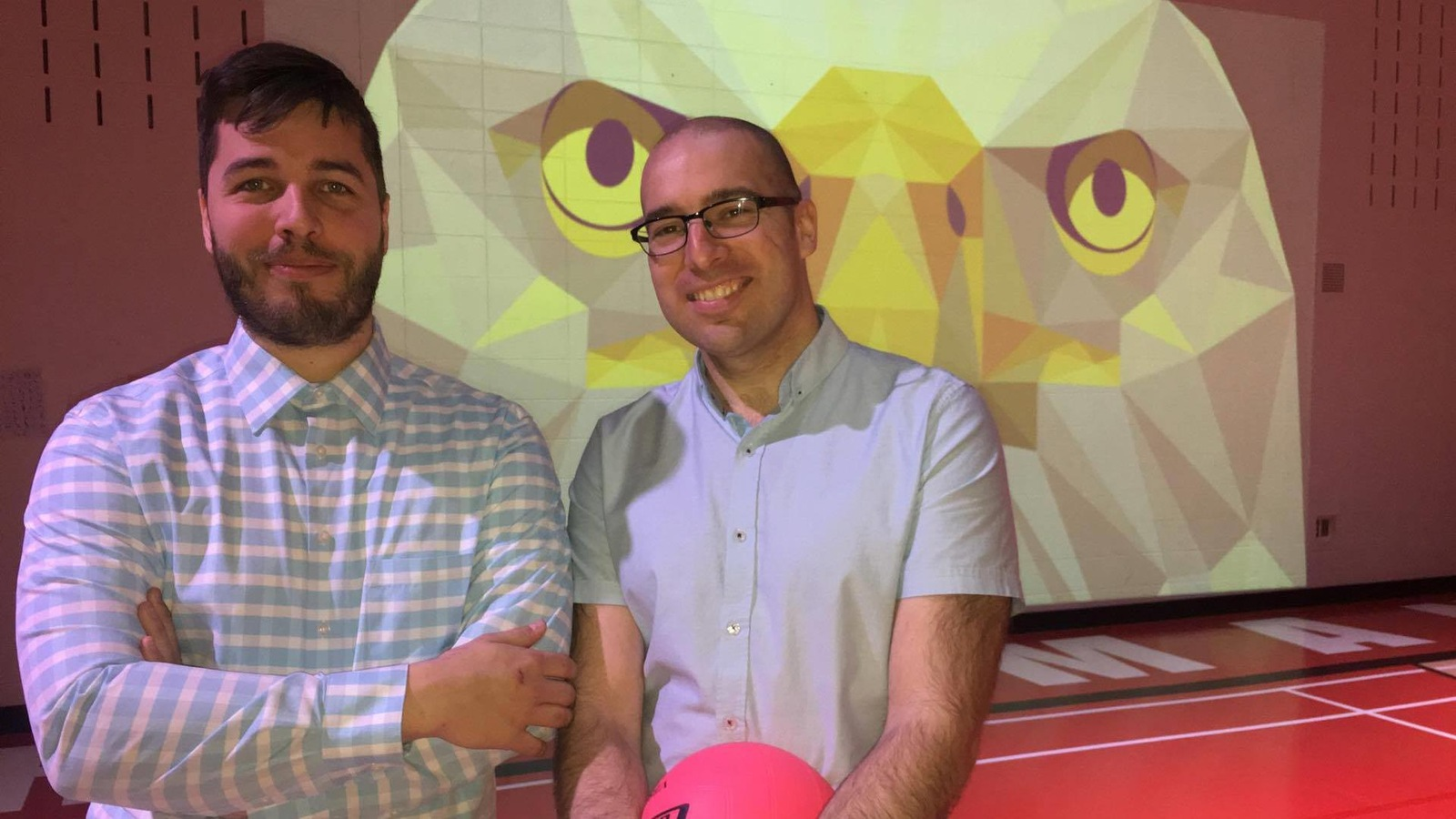 Les entrepreneurs Vincent Routhier et Simon St-Hilaire