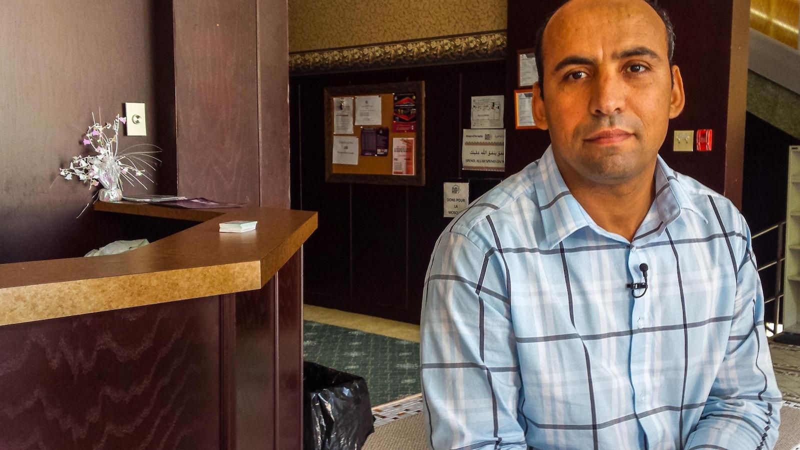 Saïd Akjour est l'un des 5 blessés dans la fusillade à la Grande mosquée de Québec le 29 janvier dernier