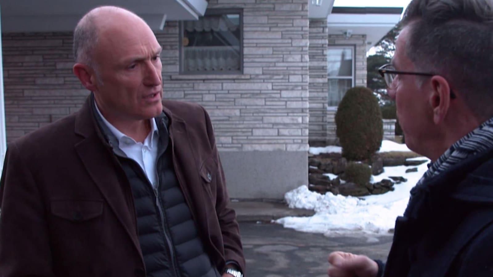Jean-Louis Sbeghen et François Dallaire