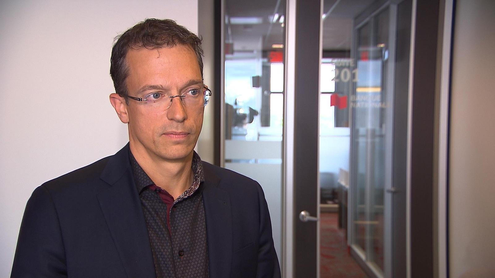 Le premier vice-président à la Financière Banque Nationale et conseiller en gestion du patrimoine, Serge Morin