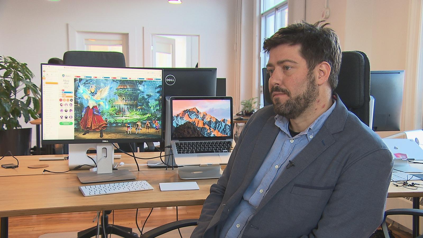 L'un des cofondateurs de Classcraft, Shawn Young