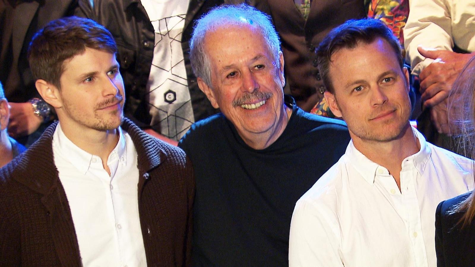 Alexandre Landry, Denys Arcand et Louis Morissette