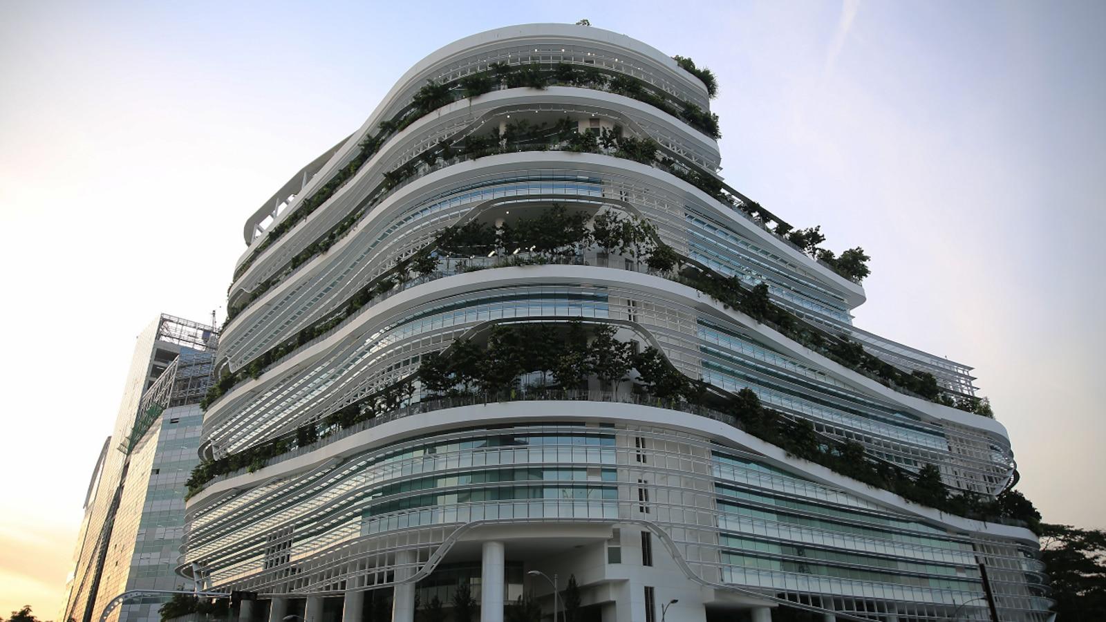 Les bureaux d'Ubisoft à Singapour, en Asie du Sud-Est.
