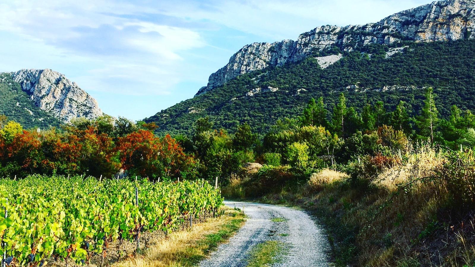 La vallée de l'Agly en France