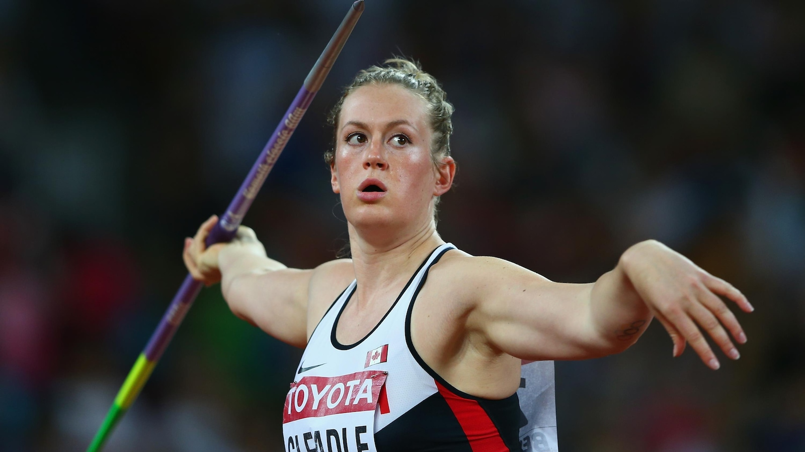 Elizabeth Gleadle à Rio
