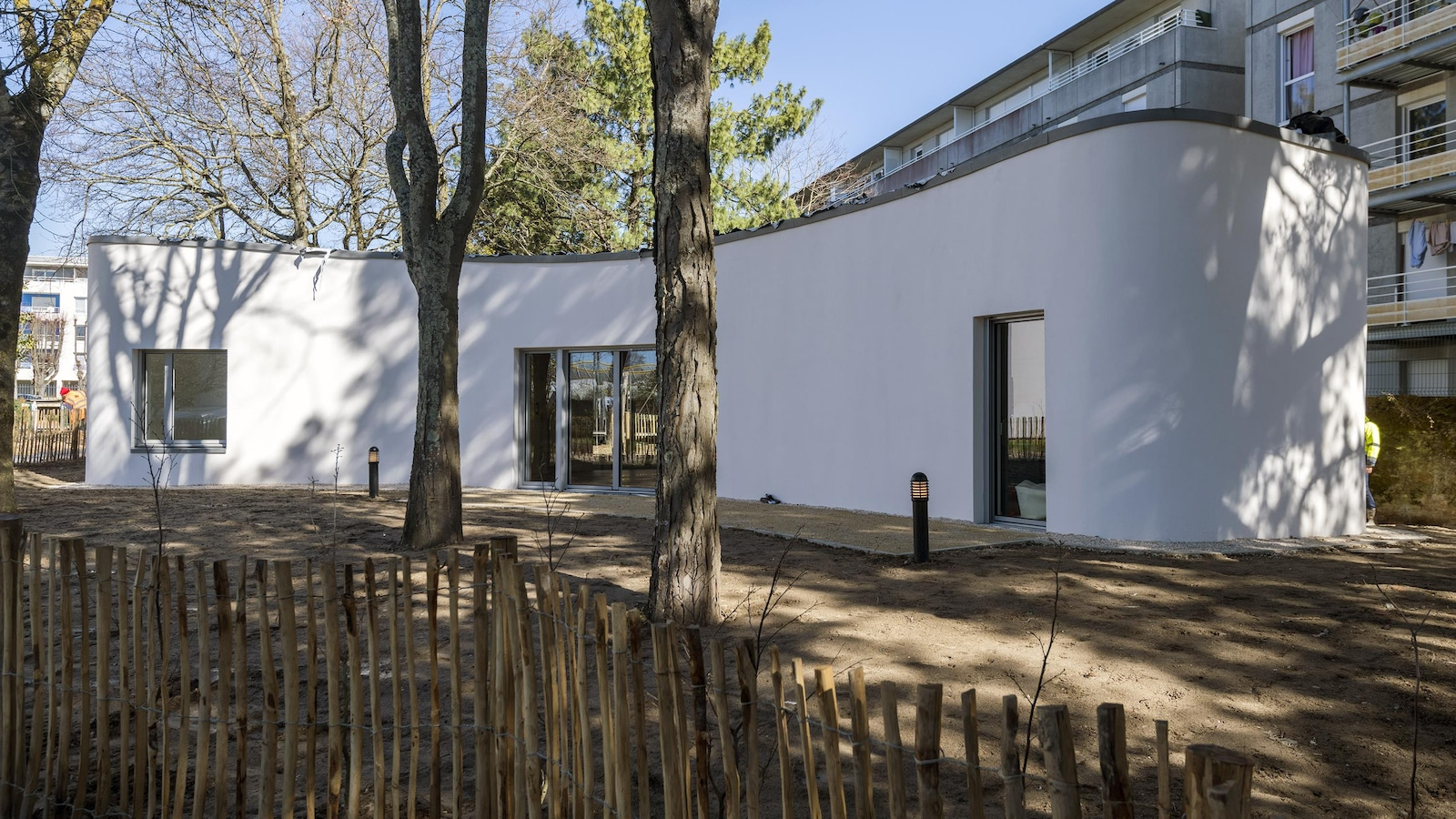 photo de Yhnova, maison en impression 3D, Nantes Métropole habitat.