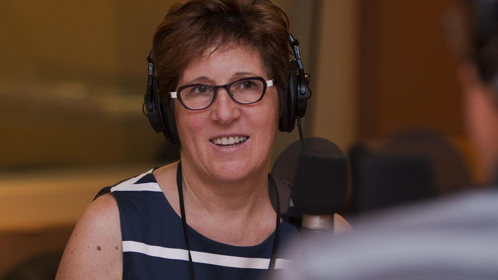 Diane Marcotte, professeure au Département de psychologie de l'UQAM