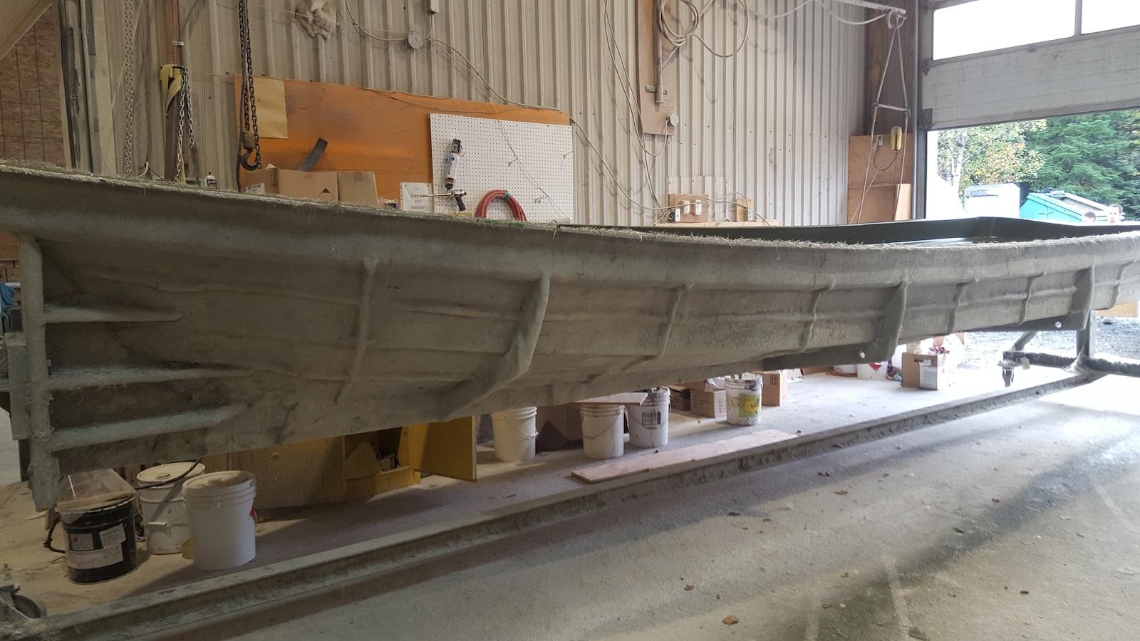 Cette immense embarcation est le fruit d'une entente signée avec la communauté crie de Waskaganish. Ce bateau servira notamment à naviguer sur la Baie d'Hudson.