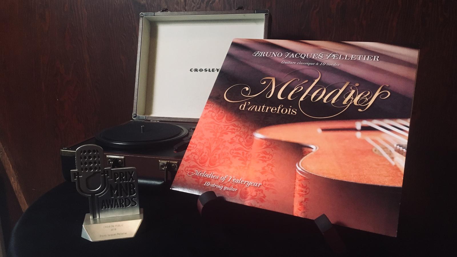 L'album Mélodies d'autrefois de Bruno Jacques Pelletier