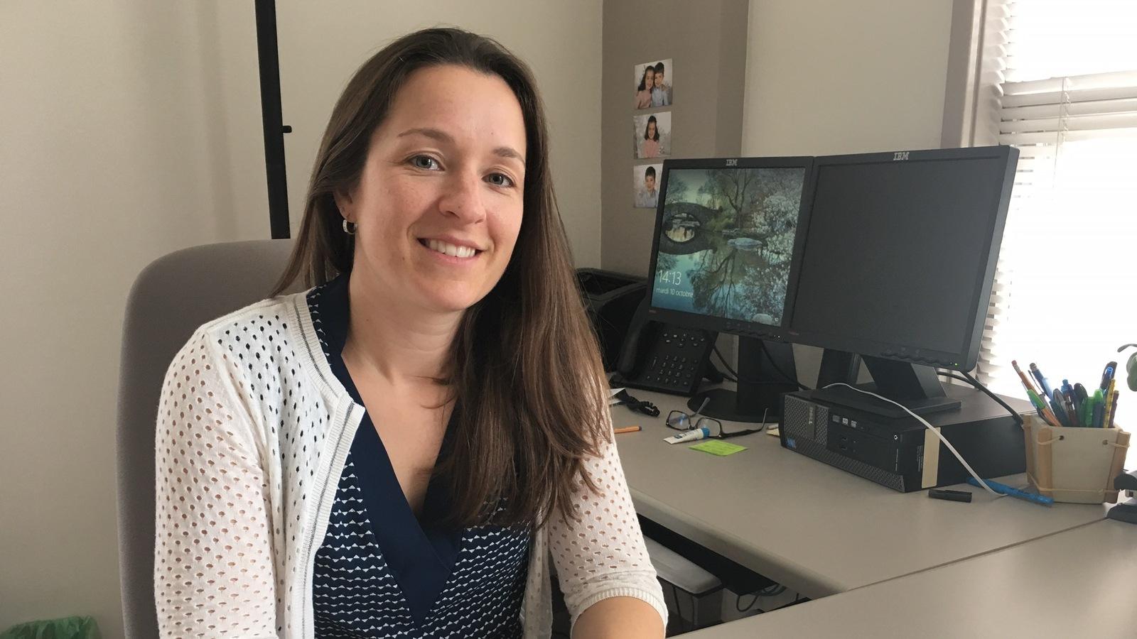 Mylène Lachance-Grzela, professeure adjointe à l'école de psychologie de l'Université de Moncton