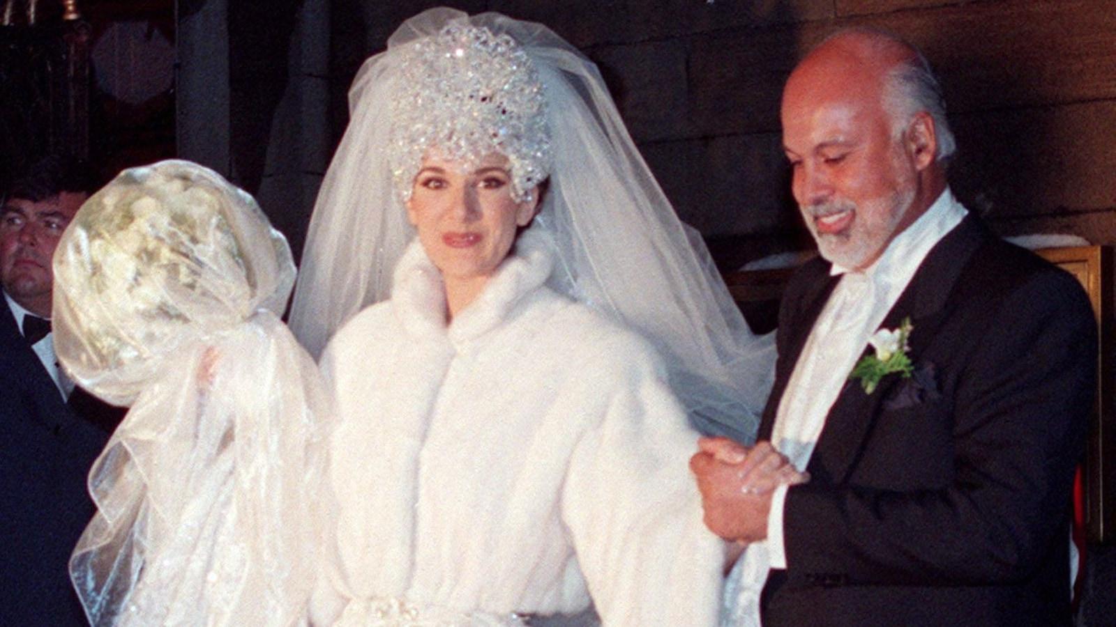 Céline Dion et René Angelil unissent leur destinée.