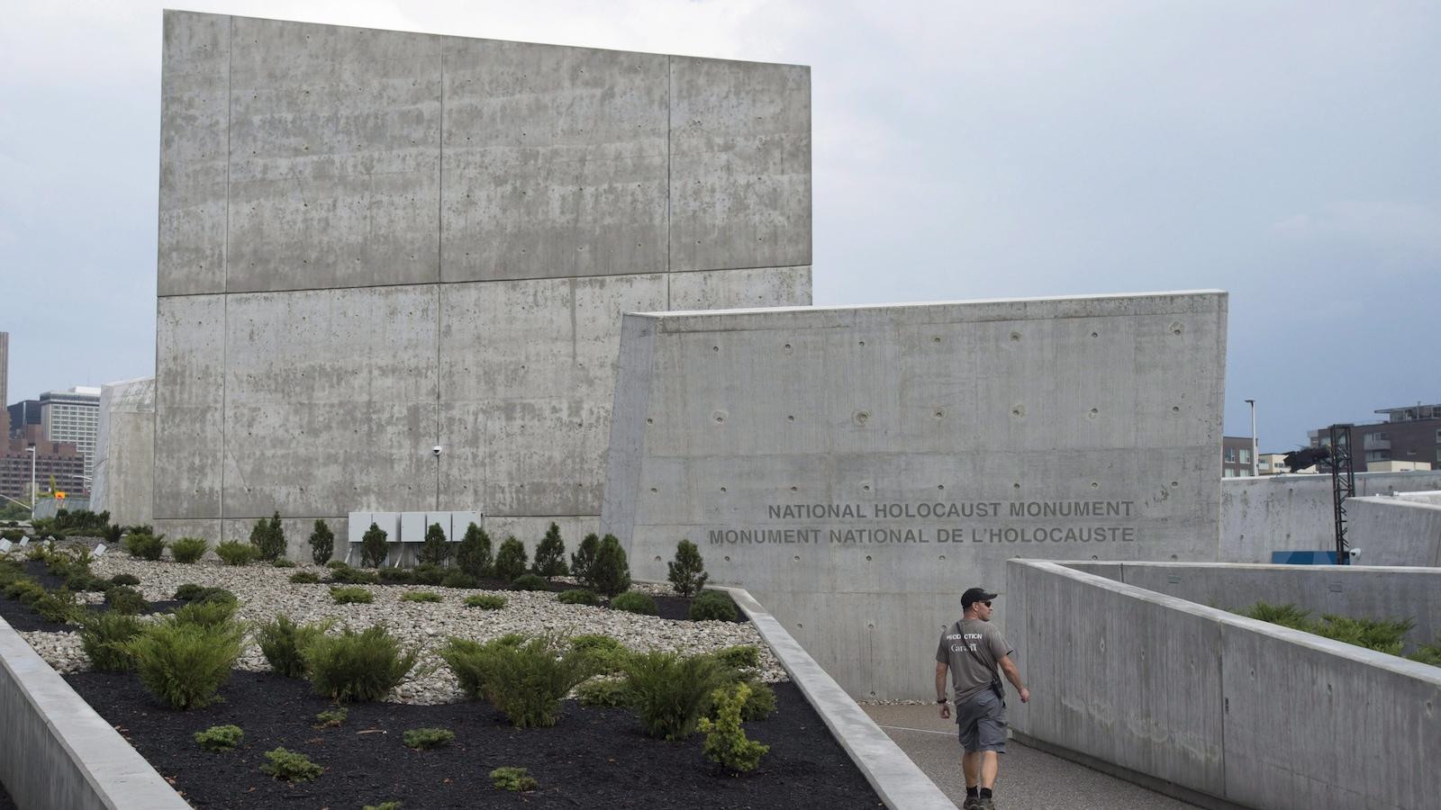 Le monument national de l'Holocauste, à Ottawa, a été conçu par Claude Cormier.