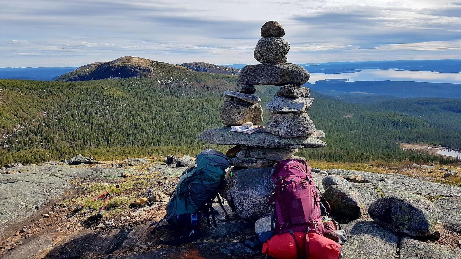 Massif des Monts Groulx.