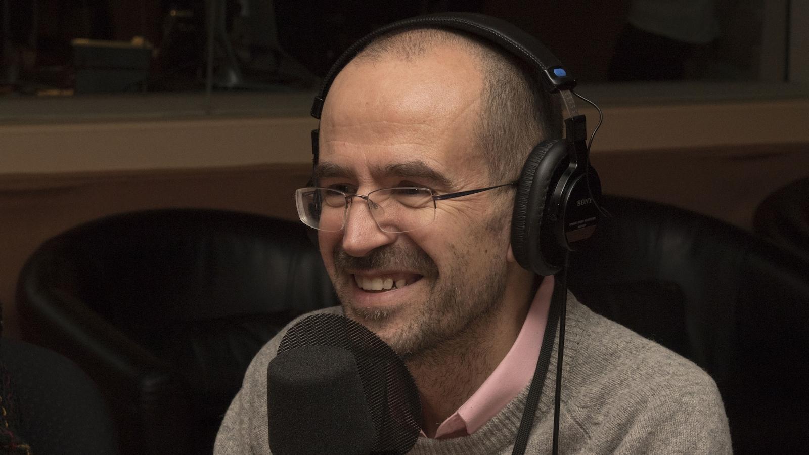 Guillermo Aureano, chercheur au Centre d'études et de recherches internationales de l'Université de Montréal (CERIUM)