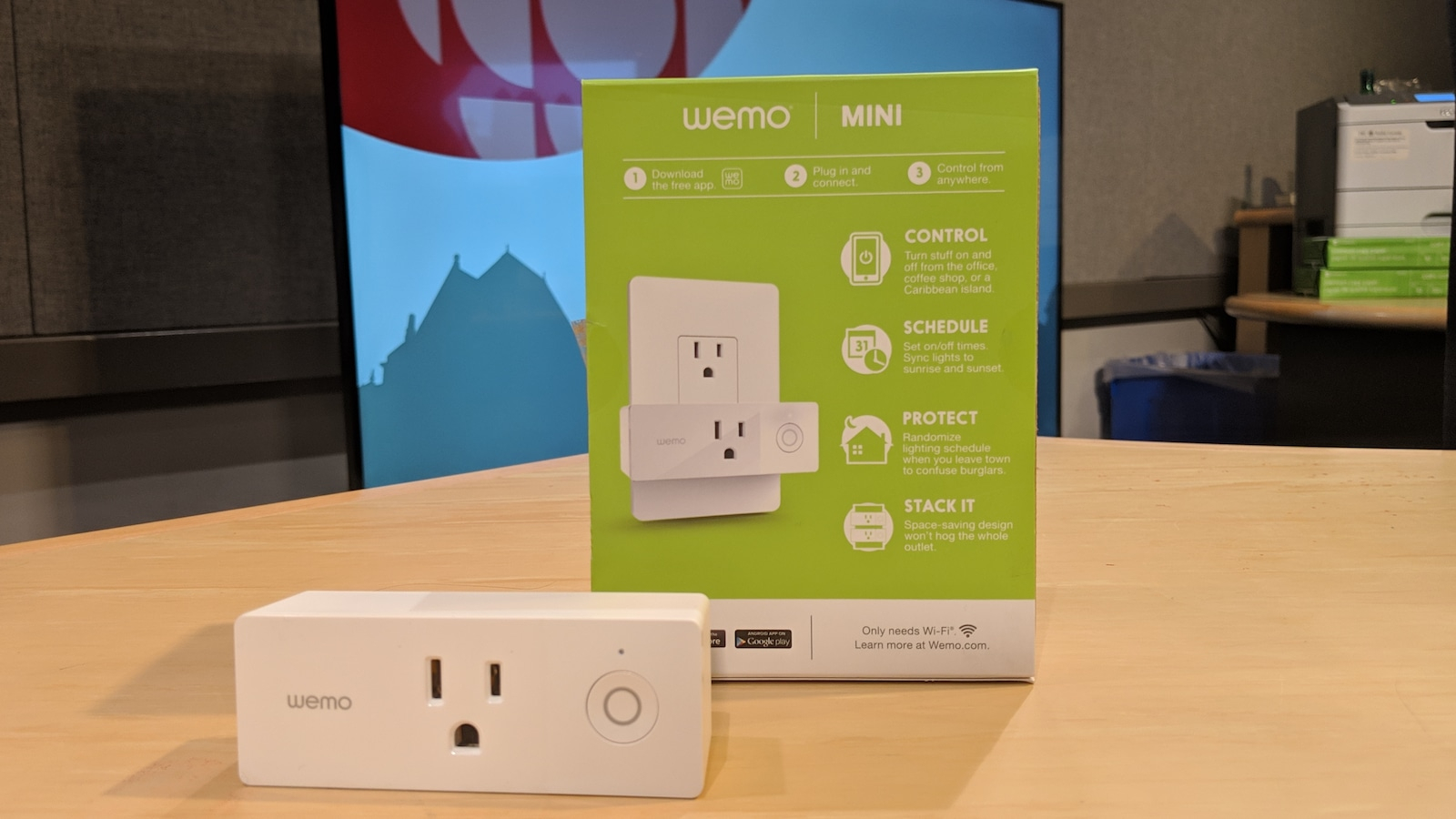 Prise de courant intelligente WEMO Mini.