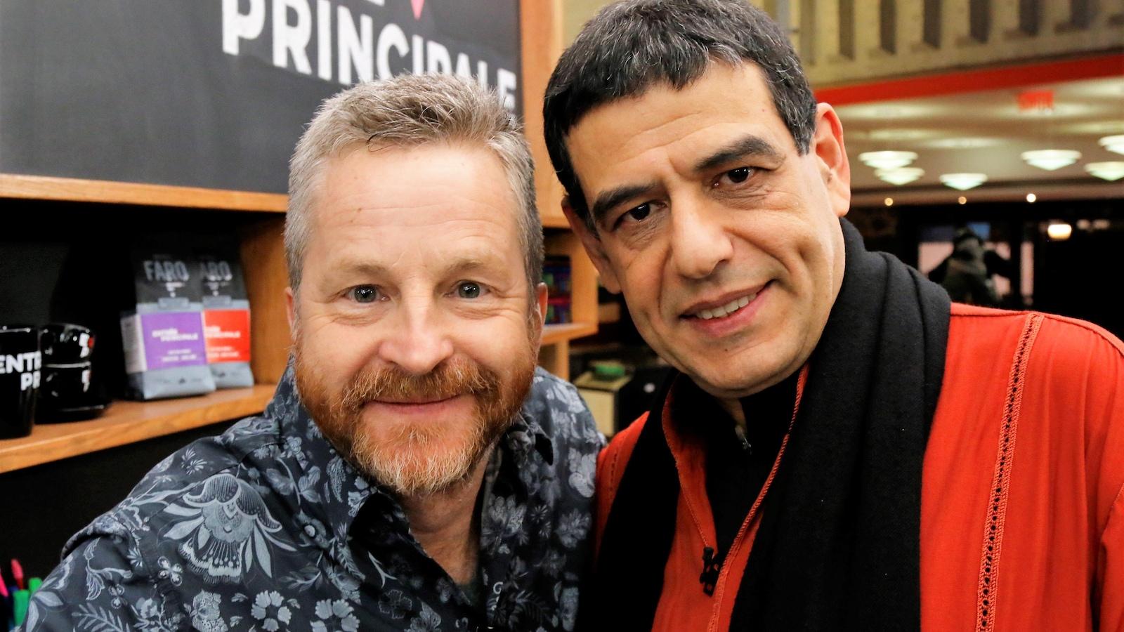 André Robitaille et Mohamed Lotfi