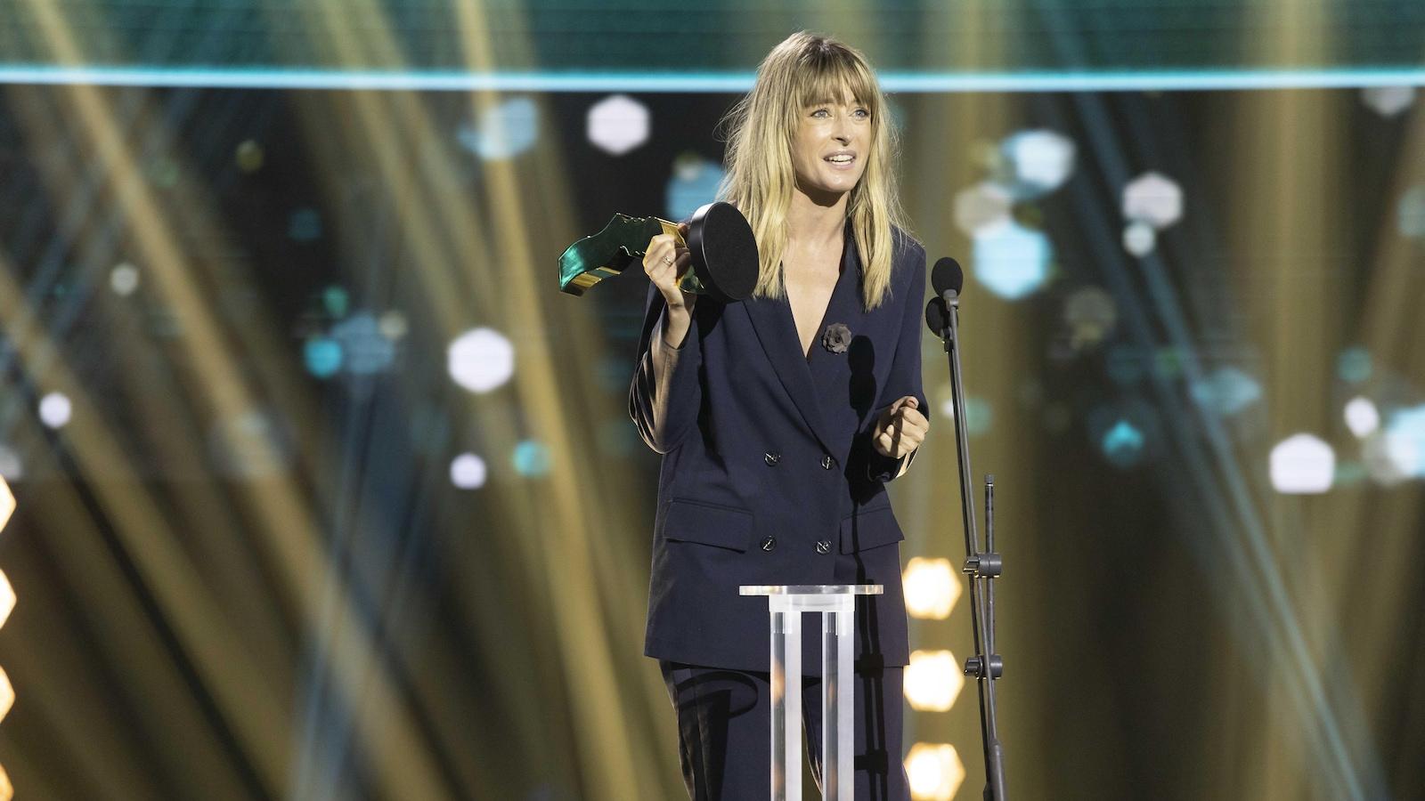 Christine Beaulieu tient un Gémeaux