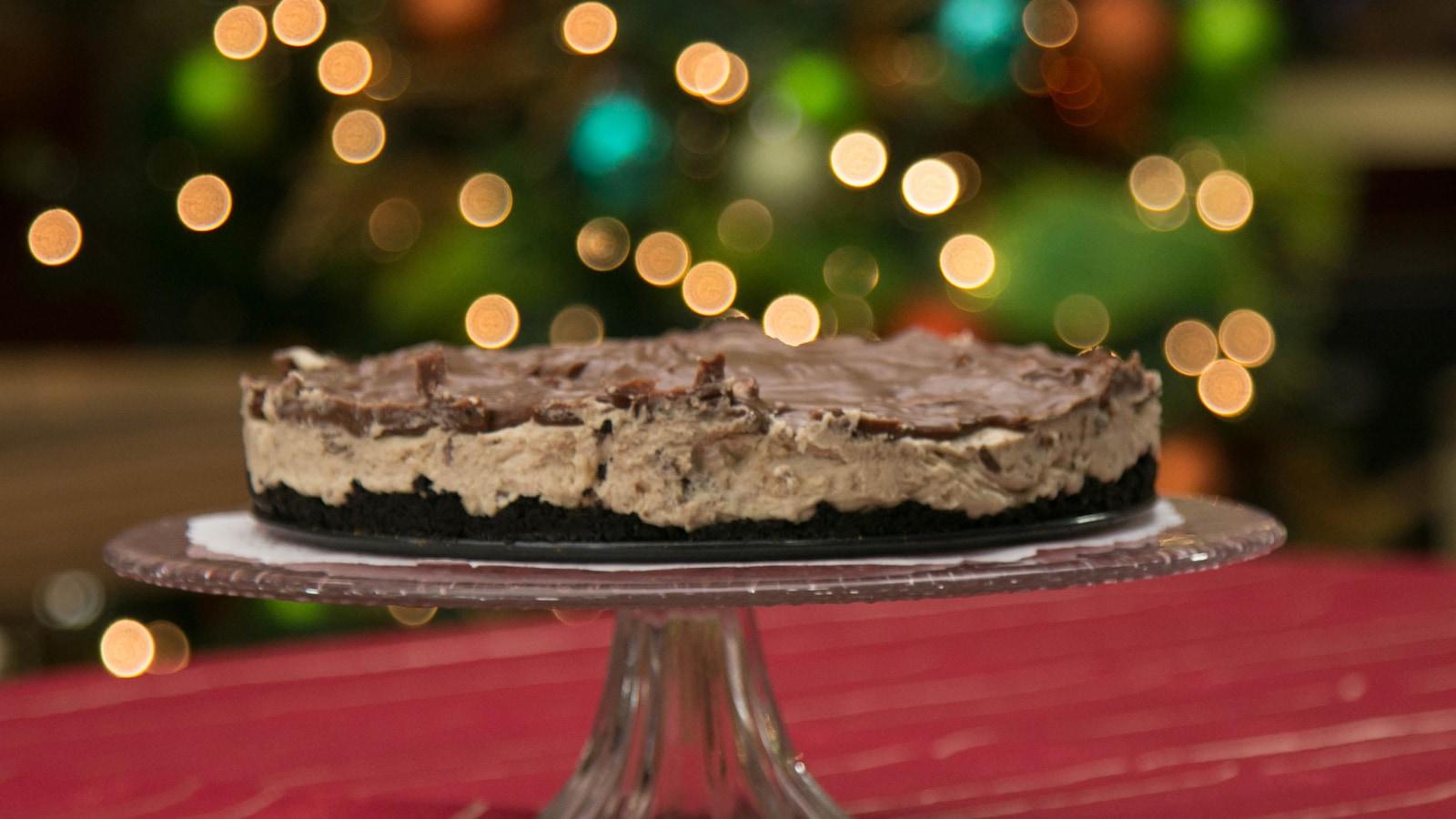 Gâteau au fromage au chocolat sans cuisson