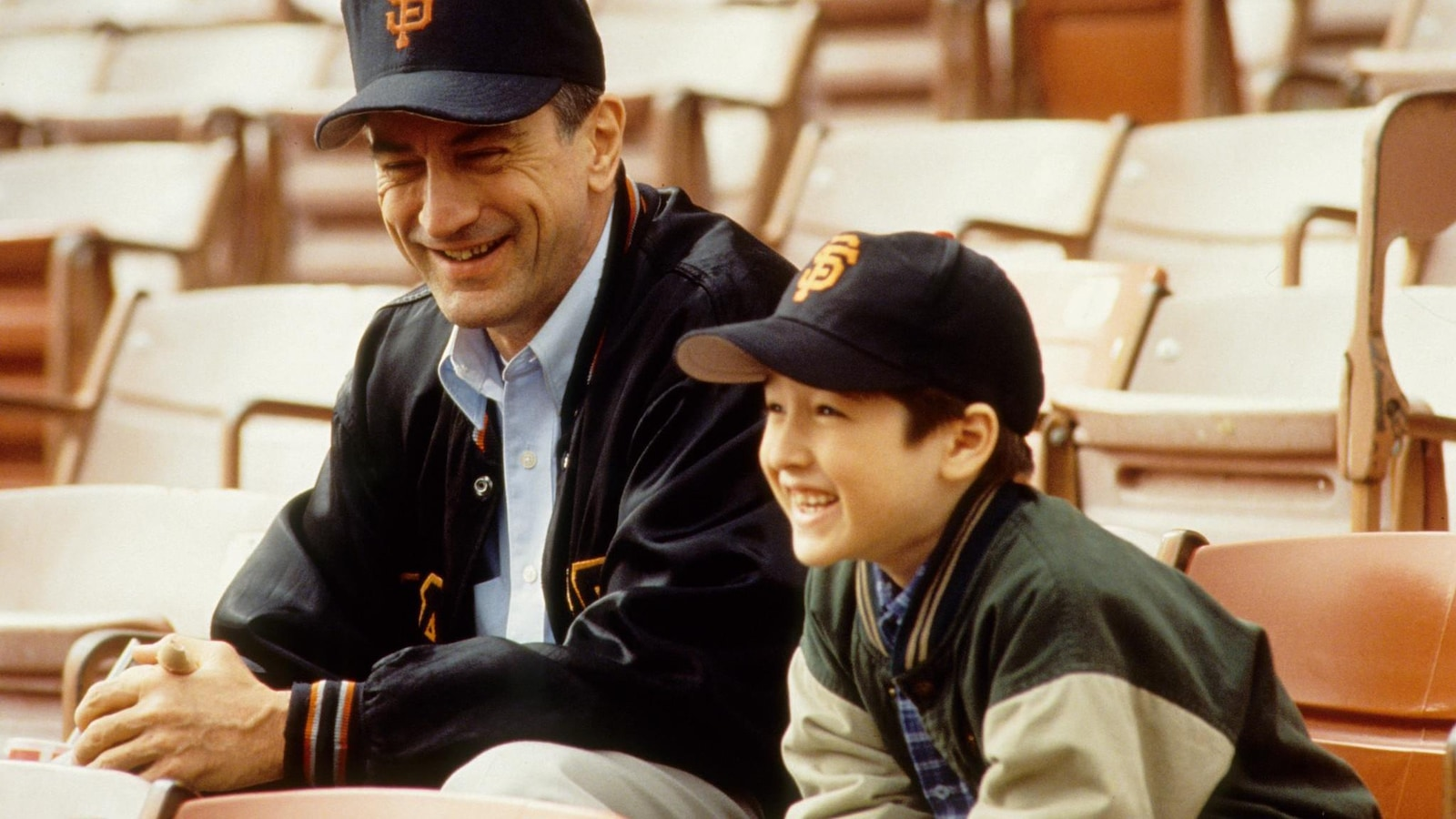 Robert de Niro et l'acteur qui joue son fils