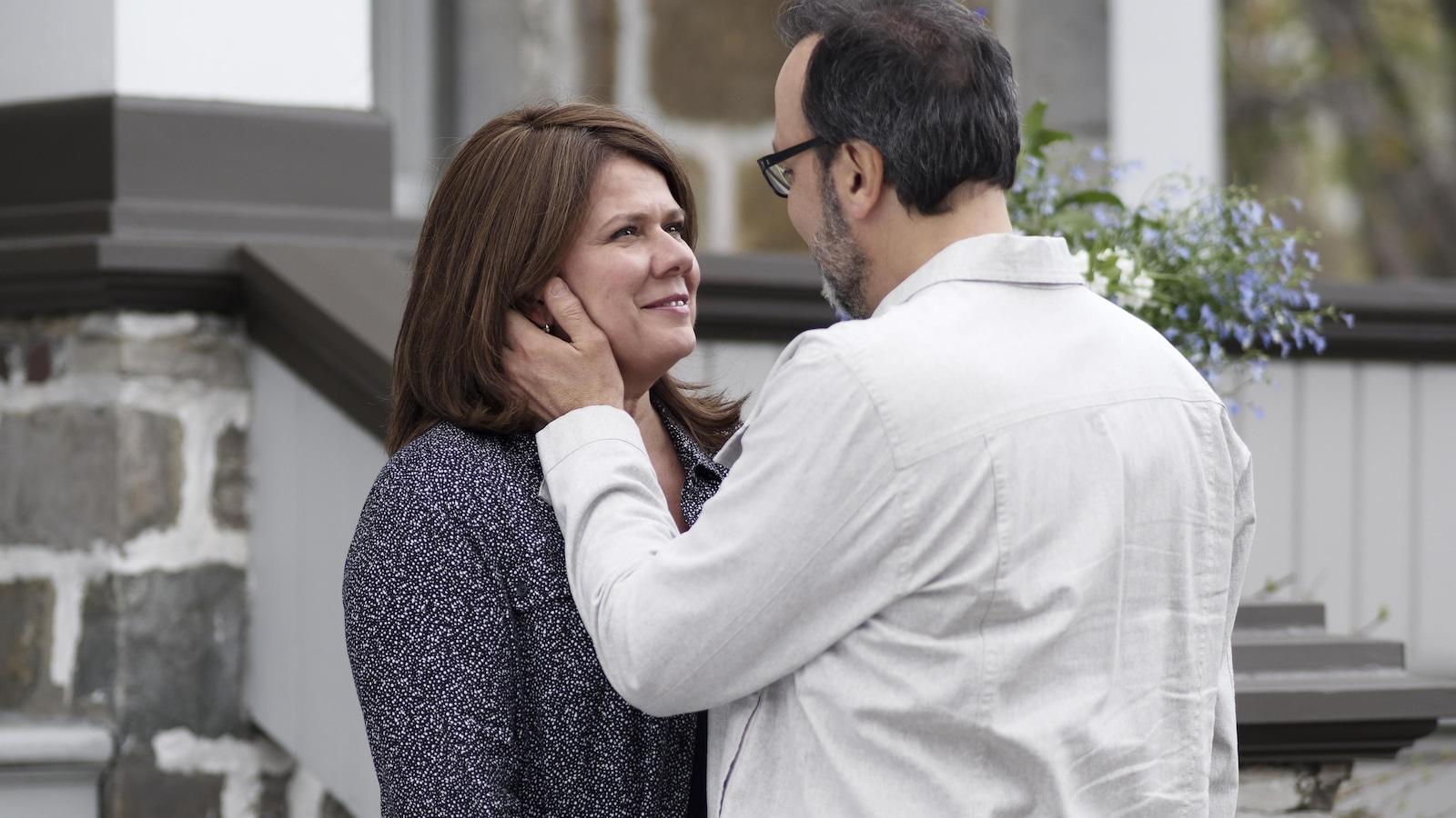 Marina Orsini et Yves Soutère dans Une autre histoire.
