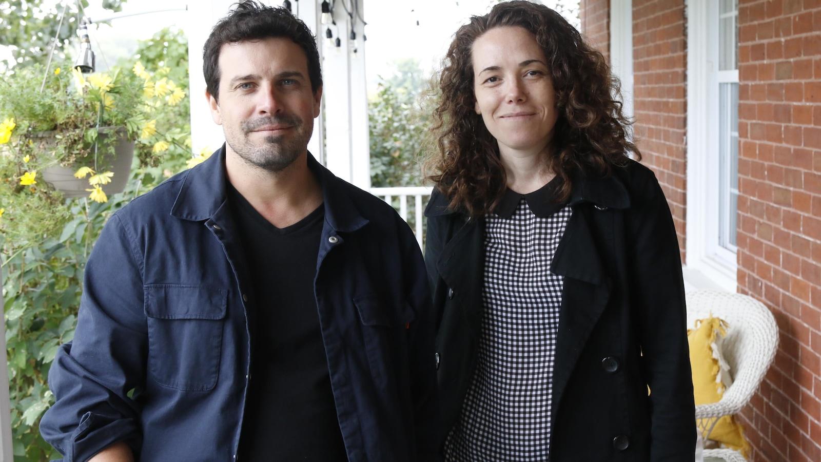 les réalisateurs Christian Laurence et Myriam Verreault.