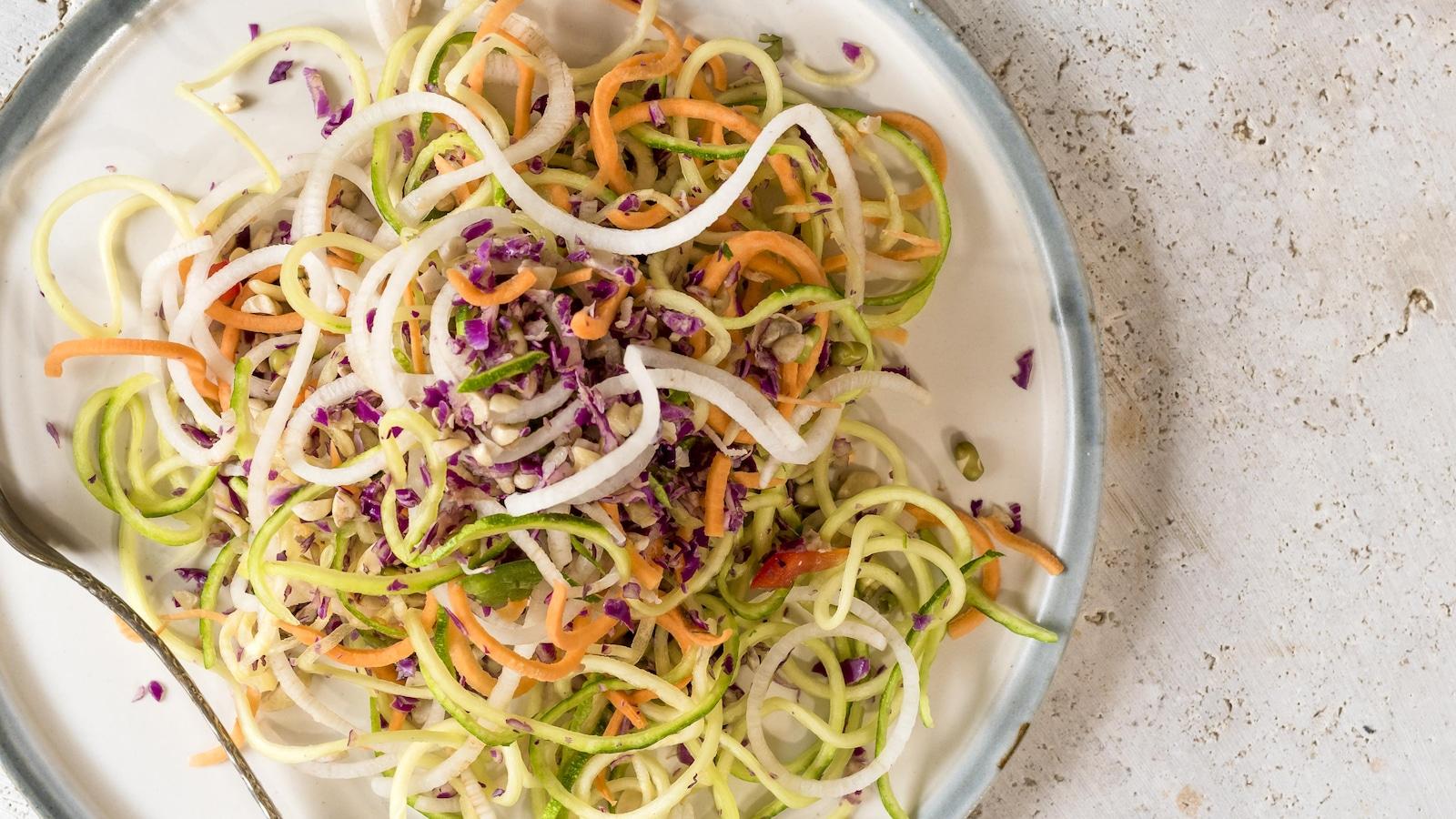 Salade photographiée par la photographe culinaire Catherine Côté