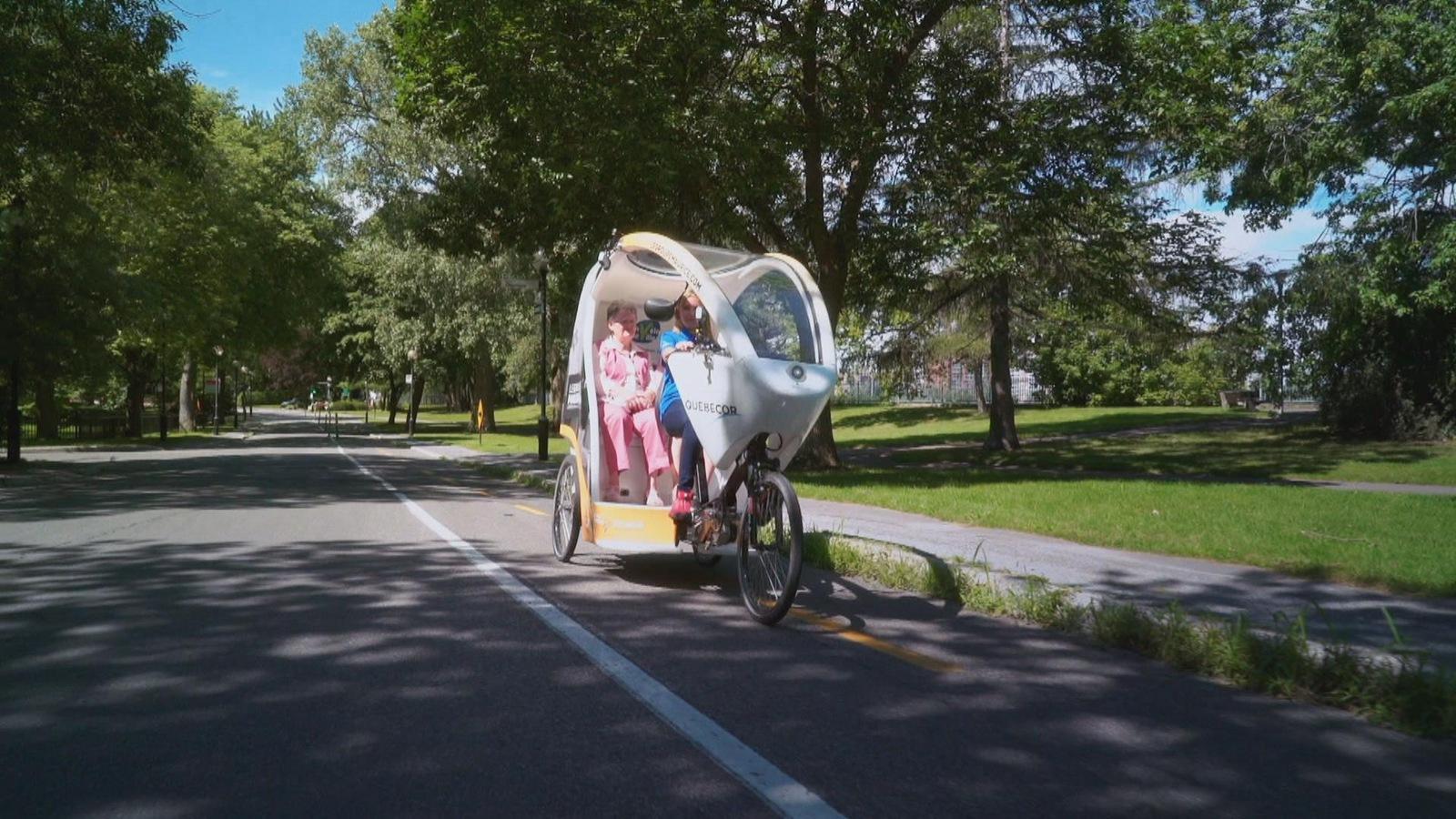 Une ballade à vélo offerte par l'ONG Un vélo une ville