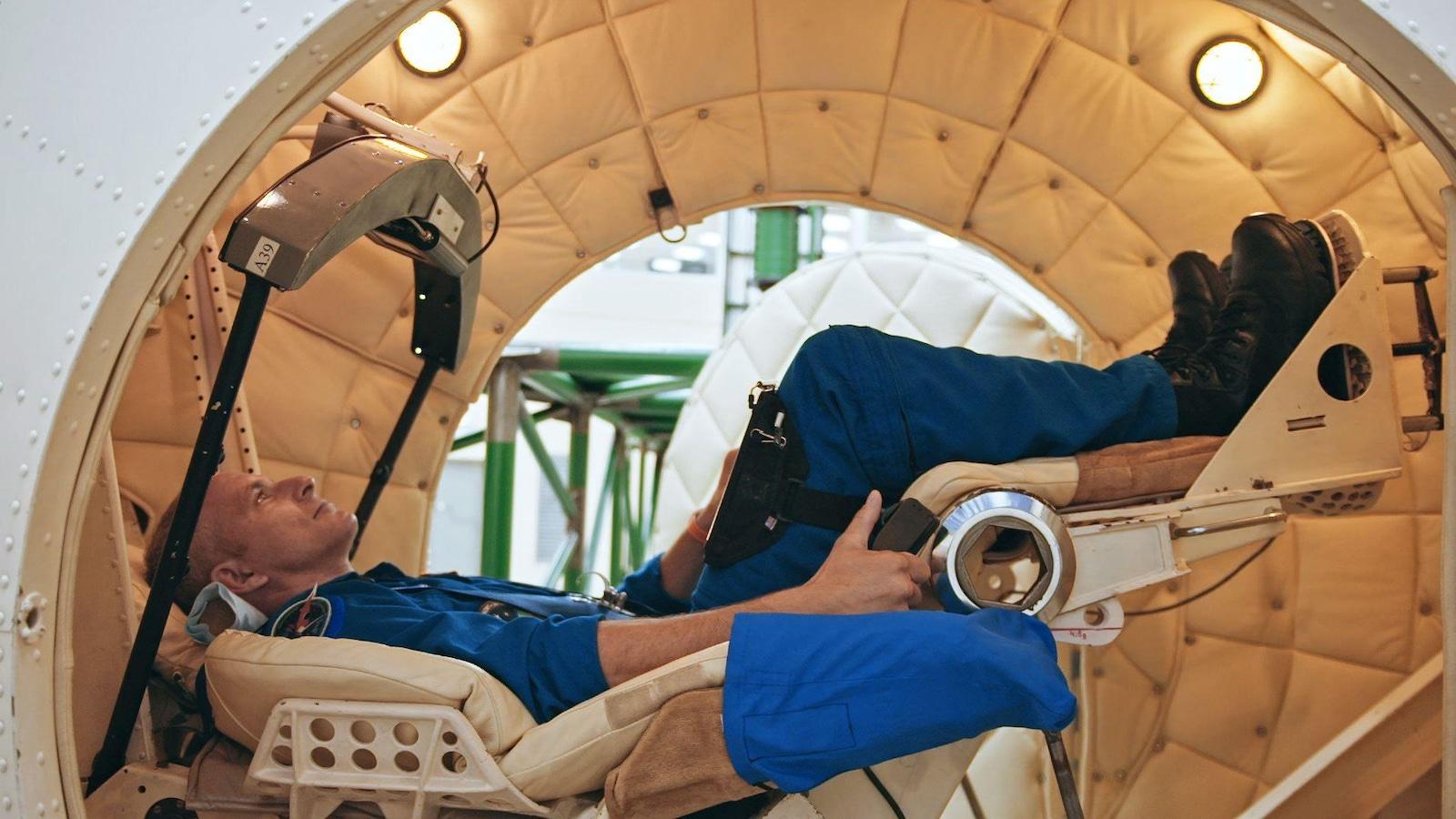 Il se pratique dans la centrifugeuse humaine avant d'aller en mission spatiale
