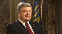Le président ukrainien en entrevue avec CBC News.