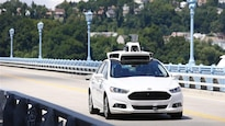 Une voiture autonome est testée au mois d'août à Pittsburgh.