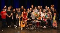 Les jeunes artistes de la finale de Cégeps en spectacle 2016, à Baie-Comeau
