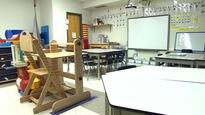 Une classe sans fenêtre pour de jeunes autistes