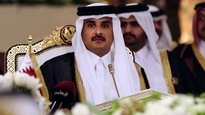 L'émir du Qatar Tamim ben Hamad Al-Thani.