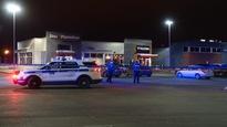 Les policiers se sont rendus sur les lieux où des témoins rapportaient avoir entendu des coups de feu.