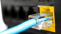 Une prise qui permet d'accéder à Internet.