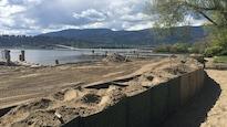 Le niveau du lac Okanagan continue de monter.