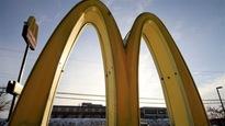 Enseigne d'un restaurant McDonald's