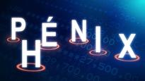 Les lettres du mot « Phénix » se dressent devant des séries de chiffres.