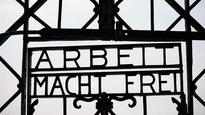 Le portail volé au camp de Dachau
