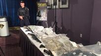 Démantèlement d'un vaste réseau de trafic de drogue et d'armes enOntario et au Québec