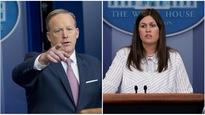 Le porte-parole de la Maison-Blanche, Sean Spicer, a démissionné et sera remplacé par la numéro deux, Sarah Huckabee Sanders.