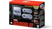 Boîte de la console SNES Classic.