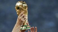 Le trophée de la Coupe du monde de soccer