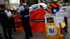 Madrid va prendre le contrôle des bureaux de vote pour empêcher le référendum catalan