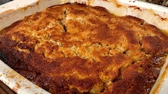 Pudding aux mangues «façon chômeur»