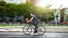 Se rendre au boulot à vélo, bon contre le stress