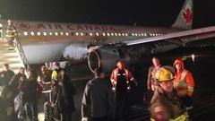 Un atterrissage difficile pour un avion d'Air Canada à l'aéroport Pearson
